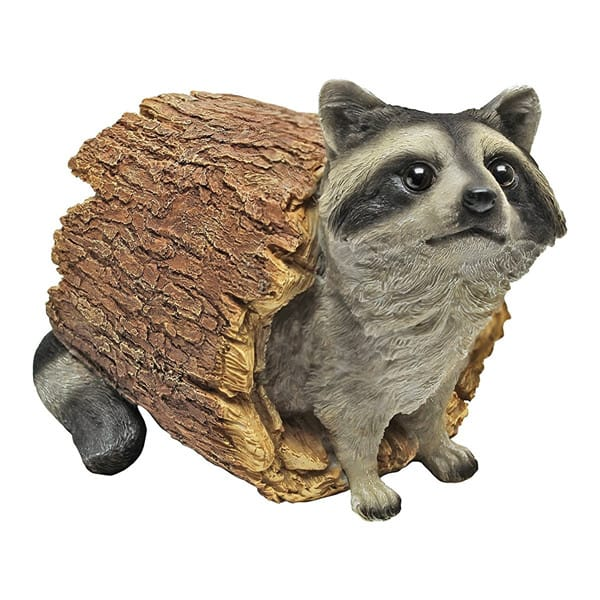 Realistic Raccoon Statue