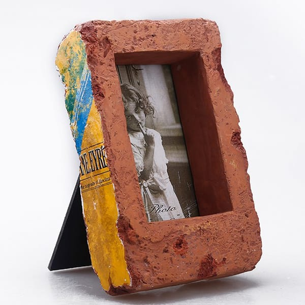 Custom brick shape photo frame.JPG