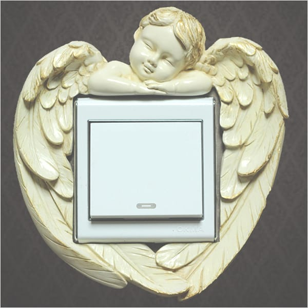 Angel Wall Swtch Plate