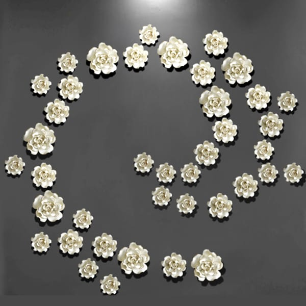 3D Flower Wall Decoration