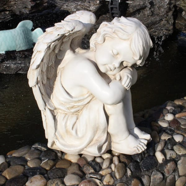 Angel Baby Statues