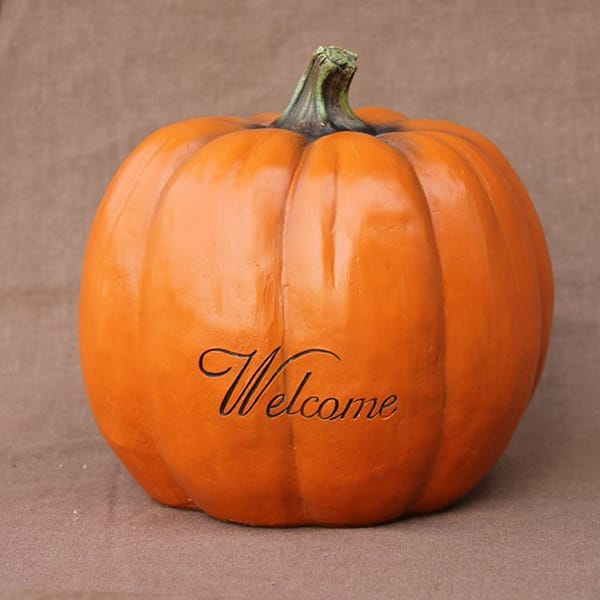 Resin Atificial Pumpkin D...