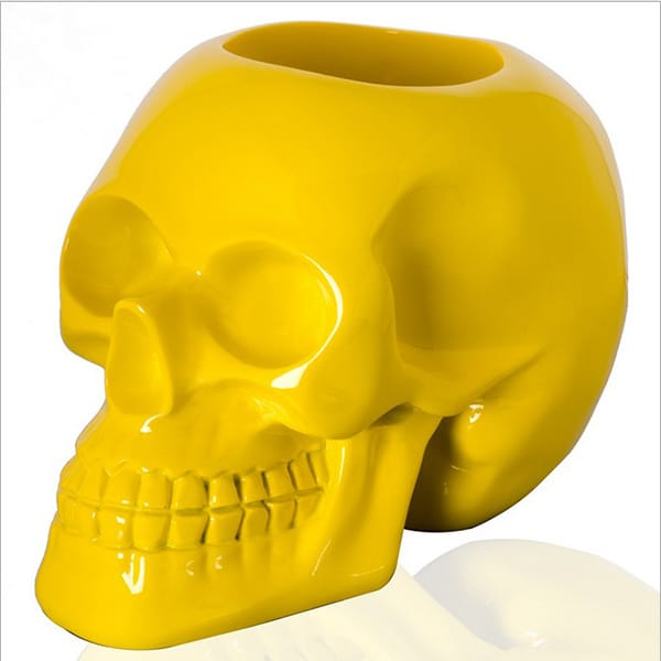 Resin Glossy Skull Design ...