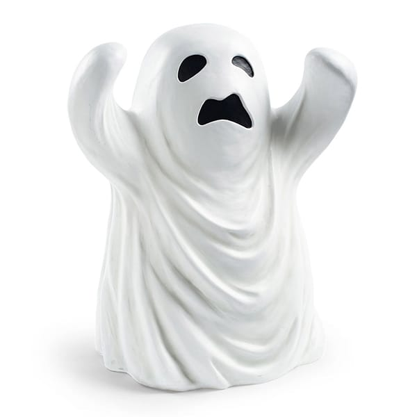 Cute Cartoon White Ghost f...