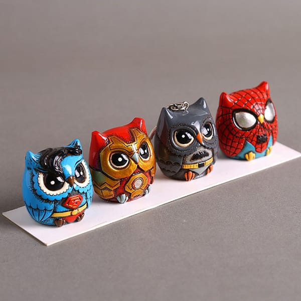 Resin cartoon owl figurine (6).JPG