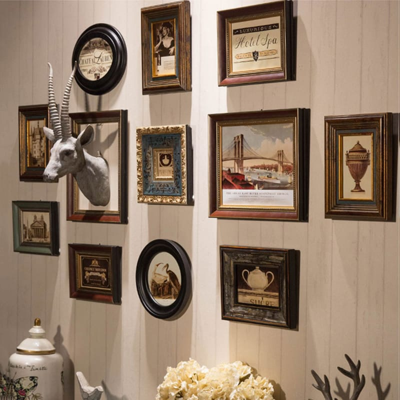 Wall hanging Wood Photo Fr...