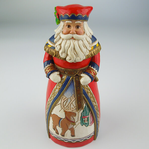 Hand Paint Resin Santa Cl...