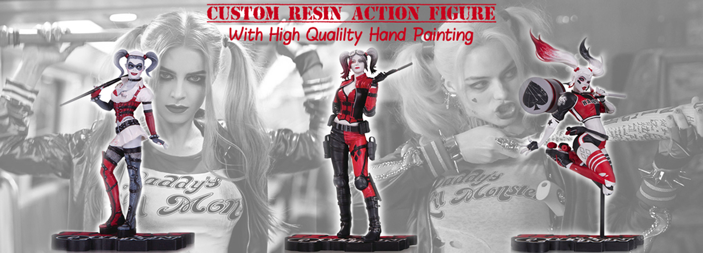 resin action figure