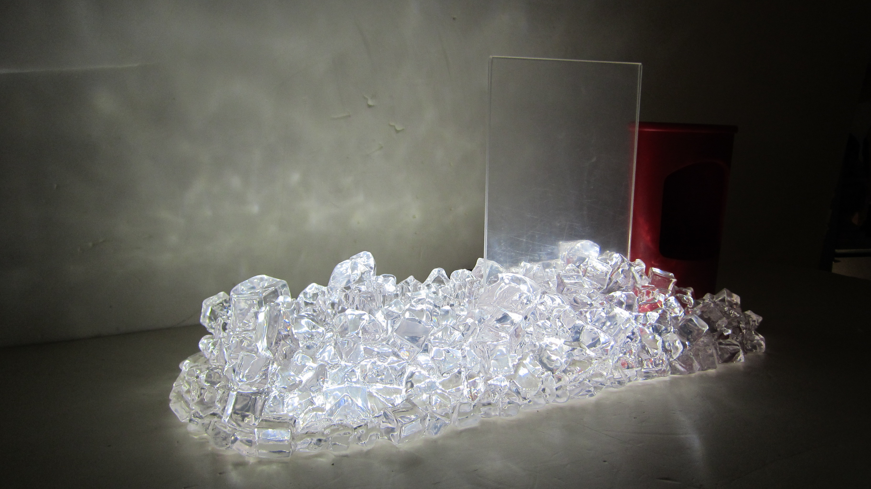 Ice Effect Resin Holder