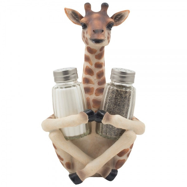 Decorative Giraffe Salt and...