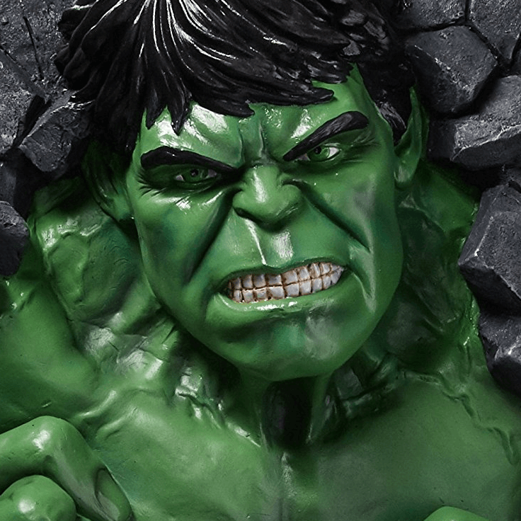 Hulk wall breaker Decor