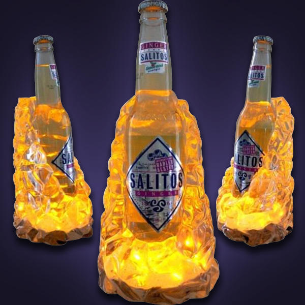 (SALITOS)Ice Display Bottle Glorifier