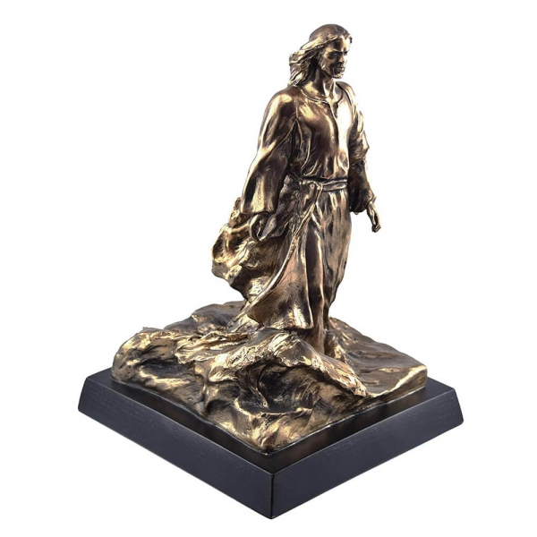 resin cold cast bronze religious jesus statue