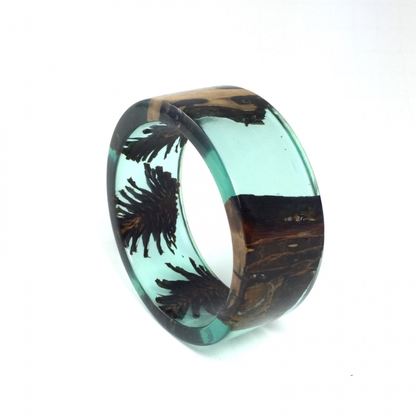 UNIQUE RESIN BRACELET HANDMADE